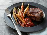Lamb Chops With Tomato-Mint Jam