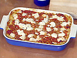 Lamb and Feta Cheese Lasagna