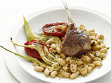 Lamb Chops with Fennel and Tomatoes