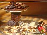 Easy Chocolate Centerpiece