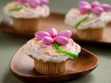 Easter Flower Cupcake