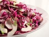Radish and Cucumber Slaw