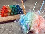 Rainbow Shots or Snow Cones