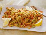Rainbow Bell Pepper Couscous