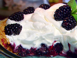 Ten-Minute Blackberry Cream Pie