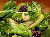 Garden Salad with Apple Cider Vinaigrette