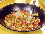 Warm Corn and Tomato Salad