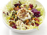 Warm Beet and Lentil Salad with Goat Cheese