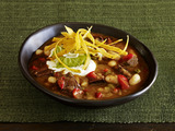 Aaron McCargo, Jr.'s Steak Fajita Chili
