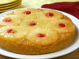 Upside-Down Pineapple-Applesauce Cake