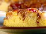 Upside-Down Cornbread Cake