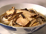 Udon Noodles with Miso Poached Tilapia
