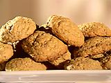 Oatmeal-Rum Cookies