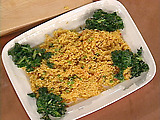 Saffron Rice with Chorizo and Peas