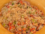 Jake's Crawfish and Sausage Jambalaya