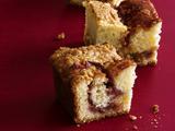 Jam Cake With Peanut Streusel