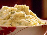 Smashed Parsnips with Mascarpone Cheese