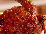 Hoisin-Glazed Cornish Hen
