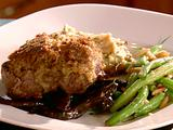 Crusted Sirloin with Rockin' Portobellos