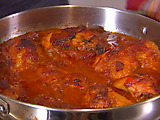 Chicken Simmered in BBQ Sauce