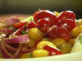 Quick-Marinated Cherry Tomato Salad