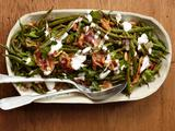 Roasted Green Beans With Pancetta and Yogurt