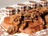 Rib-Eye Steaks with Savory Chocolate Sauce