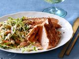 Cedar Plank Salmon With Maple-Ginger Glaze