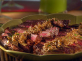 Sunny's Smothered Rib Eye Steak