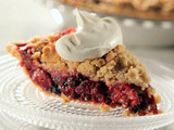 Triple Berry Pie with Granola Crunchy Crumb Topping