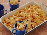 Spicy Pig Skin and Corn Nut Snack Mix