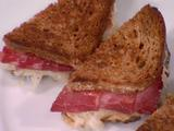 Individual Reuben Sandwiches with Red Chile Russian Dressing