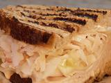 Grilled Turkey Reuben