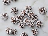 Ginger Chocolate Crackle Cookies