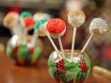 Sugar Plum Cake Pops