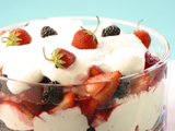 Strawberry-Blackberry Summer Trifle