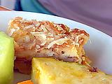 Haupia Macadamia Nut Bread Pudding