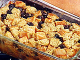 Classic New Orleans Bread Pudding with a Bourbon Sauce