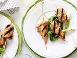 Chicken Kabobs with Grilled Onions