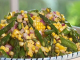 Corn and Asparagus Salad