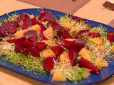 Roasted Beet and Grapefruit Salad