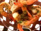 Shrimp with Cilantro Pesto