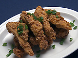 Buttermilk Marinated Deep-Fried Chicken Thighs