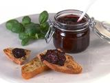 Sweet Basil and Blackberry Jam