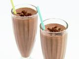 Chocolate Almond Milkshakes