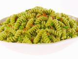 Fusilli with Pea Pesto and Smoked Mozzarella