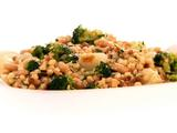 Fregola Salad with Broccoli and Cipollini Onions