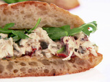 Mediterranean Halibut Sandwiches
