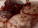 Spiced Pork Chops with Sweet and Sour Glaze (Agrodolce)