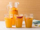 Ginger-Peach Beer Cooler
